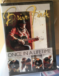 "LIVE DVD von Brian Finch "" Once In A Lifetime """